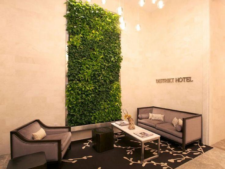 Modern Hospitality Boutique Interior Design of Distrikt Hotel, New York City