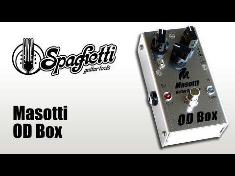 Raffaele Carano Demo Video Masotti OD Box www.spaghettiguitartools.com