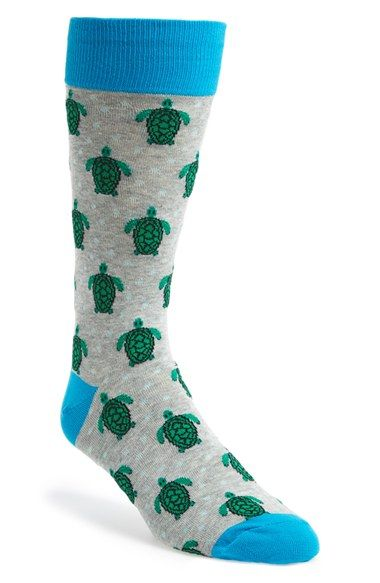 HOT+SOX+'Turtles'+Socks+available+at+#Nordstrom