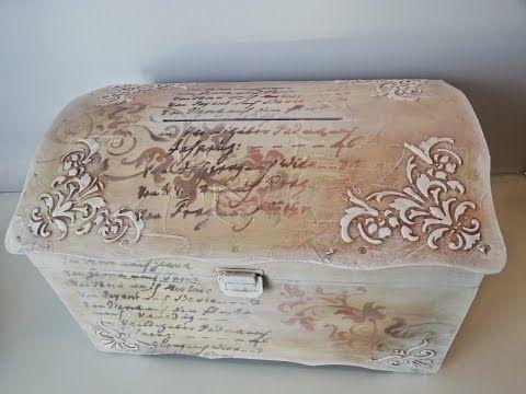 Mixed Media - Wedding money gift box / Cutie cufar pentru bani nunta unicat - YouTube