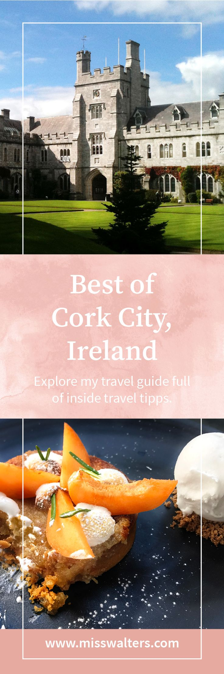 Explore my travel guide for Cork, Ireland. Full of inside travel tipps for mindful explorers.