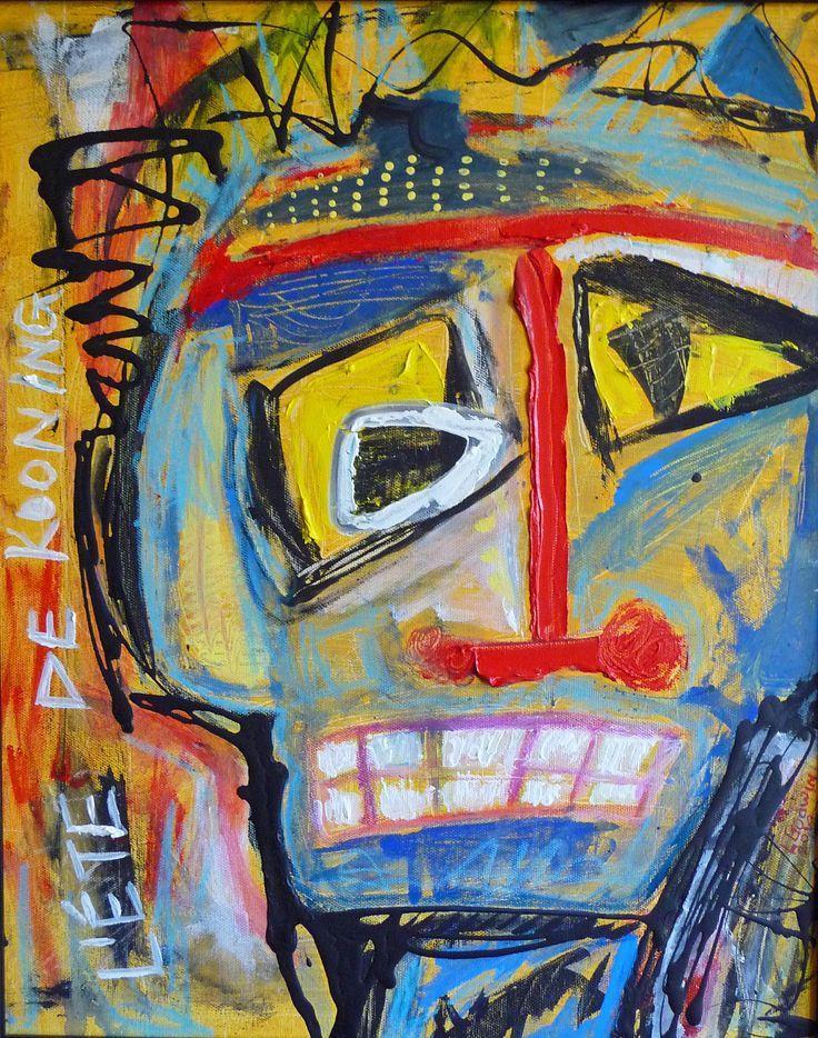 5 Willem de Kooning (1904-1997) In oktober 1935 begon hij te werken voor het Federal Art Project, een kunstproject van de overheid. Hij werkte voor dit programma, tot juli 1937 toen hij ontslag moest nemen omdat hij geen Amerikaans staatsburger was. Ondertussen had hij, na zijn brood te hebben verdiend in de vroege jaren van de Grote Depressie met commercieel werk, wel de kans gehad om zich volledig aan creatief werk te wijden.