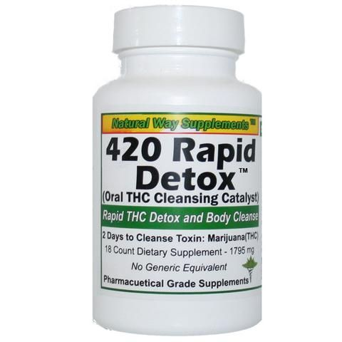 Rapid THC Detox - Help to quit smoking and or pass test.