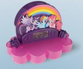 NEW My Little Pony Projector Alarm Clock
