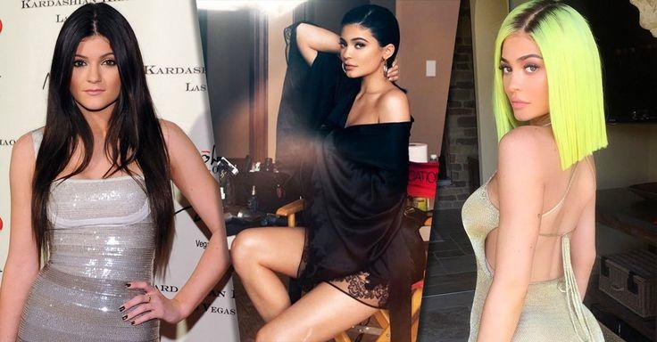 Kylie, la más joven de las hermanas Jenner, cumple 20 años de edad y la siguiente galería de 30 looks te muestran la evolución de la hermana de Kendall