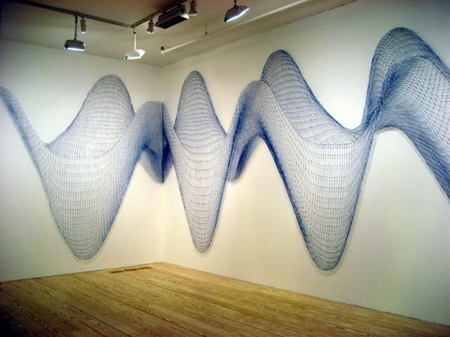 Alyson Schotz / String Installation - would love to have something ...