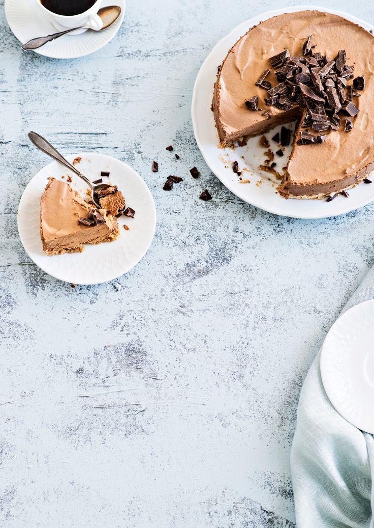 Jäädytetty suklaamoussekakku   K-ruoka