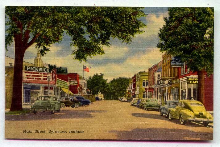 Syracuse Indiana main street | Indiana | Pinterest ...