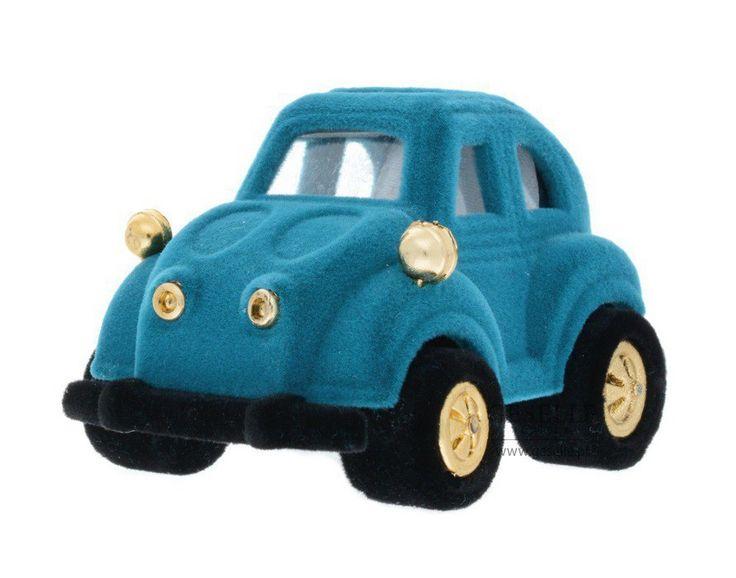 Urocze, niebieskie pudełeczko - samochodzik na drobną biżuterię, idealne dla chłopca na prezent   NA PREZENT \ Opakowania na biżuterię od GESELLE Jubiler