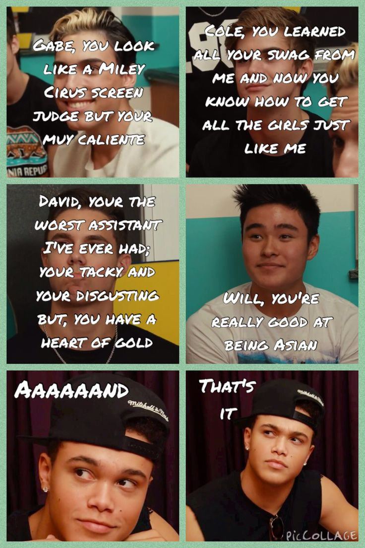 #bandcamp episode 8, part 1 Jeffrey's description of the boys <3~~~~ LOVE THIS it's supposed to be Miley cirus reject