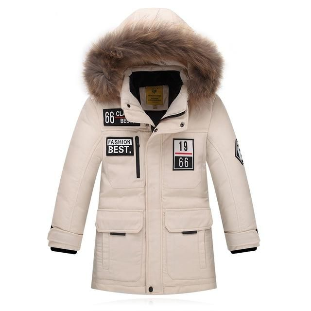 Thick Duck Down Feather Jacket