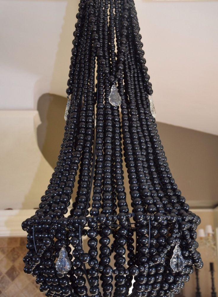 1000 id es sur le th me lustre de perle sur pinterest chandeliers cand labre et or blanc. Black Bedroom Furniture Sets. Home Design Ideas