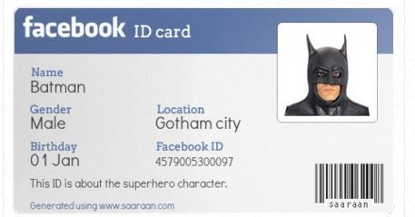 PHP Generated By Facebook ID card - http://webtoasts.com/php/php-generated-by-facebook-id-card/ #CSS, #Html, #Php, #Web   CSS, HTML, HTML & CSS, Jquery, PHP, Php Tutorial http://webtoasts.com/php/php-generated-by-facebook-id-card/