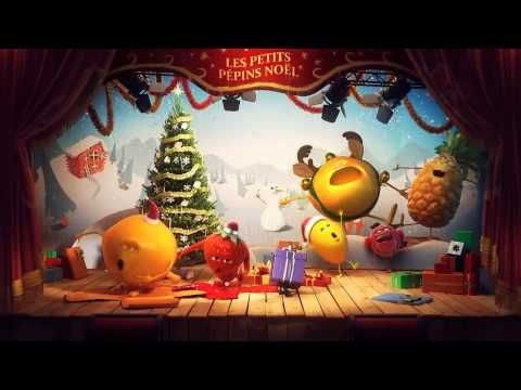 Cette année encore (pub 2011), les p'tits fruits #OASIS vous souhaitent un Joyeux Noël au cinéma !