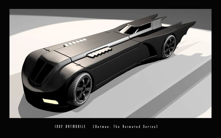 Batmobile from Batman: The Animated Series