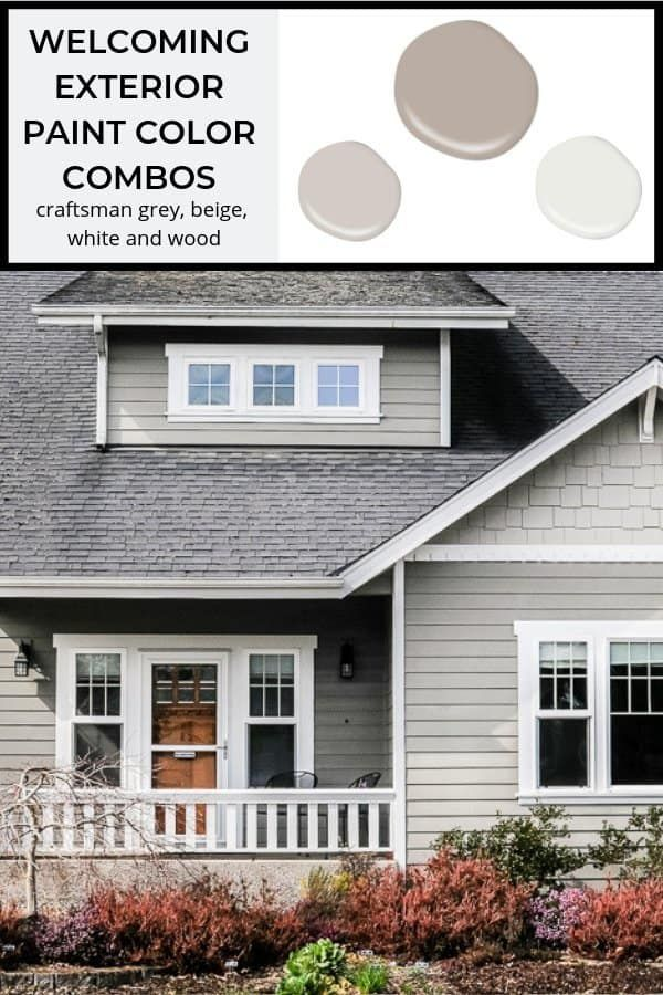 5 Welcoming Exterior Paint Color Combinations With Images