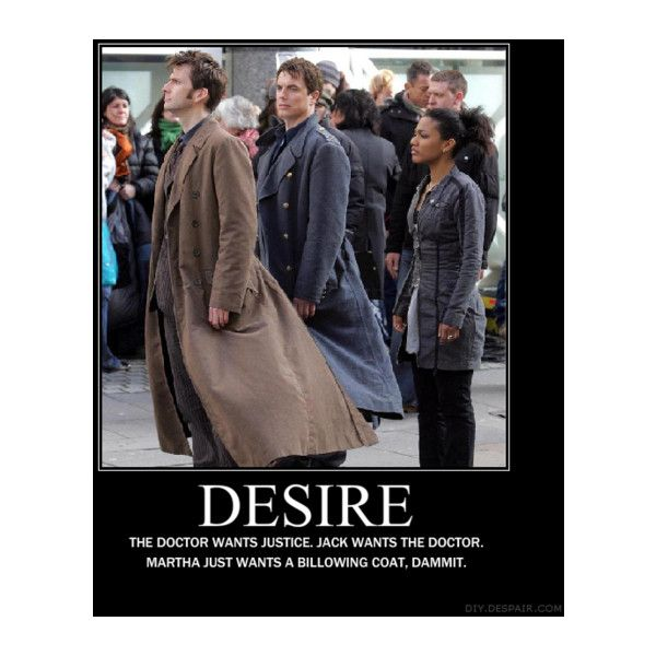 BUNiCULA- Doctor Who- Torchwood- Jack Harkness- The Doctor- Martha Jones found on Polyvore