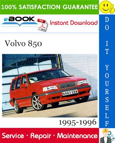 Volvo 850 Service Repair Manual 1995 1996 Download In 2020 Repair Manuals Volvo Repair