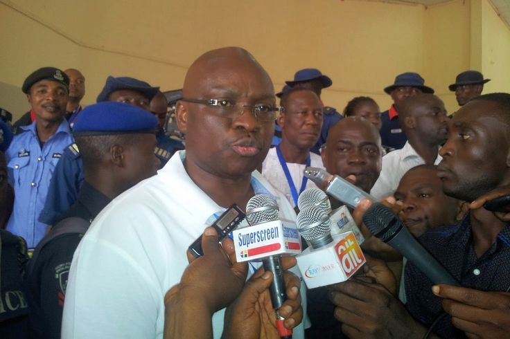 """Share or Comment on: """"NIGERIA: 'Our Democracy In Danger' - Ayodele Fayose"""" - http://www.politicoscope.com/wp-content/uploads/2015/04/Ayodele-Fayose-Photo-Interview.jpg - Governor Ayodele Fayose of Ekiti state has said: """"It is a sign of what APC desperation to take over power in the entire 36 States of Nigeria.""""  on Politicoscope: Politics - http://www.politicoscope.com/2016/03/20/nigeria-our-democracy-in-danger-ayodele-fayose/."""