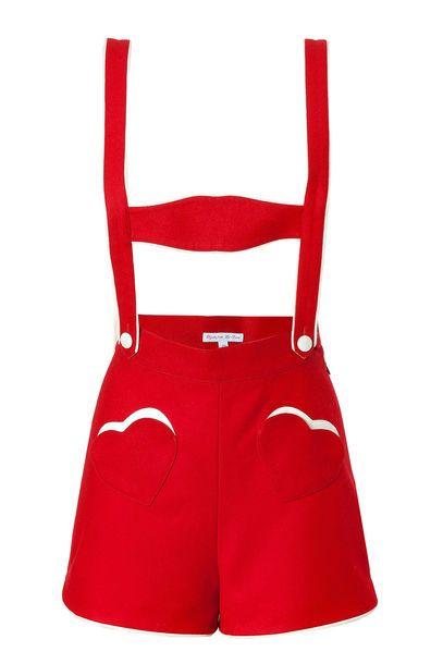 Olympia le Tan FW 2013: mini lederhose
