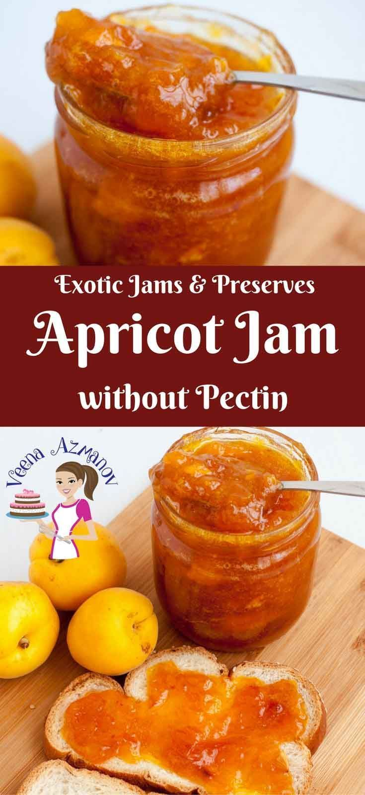 APRICOT JAM WITHOUT PECTIN  CLASSIC APRICOT JAM RECIPE WITH LESS SUGAR Nothing b…
