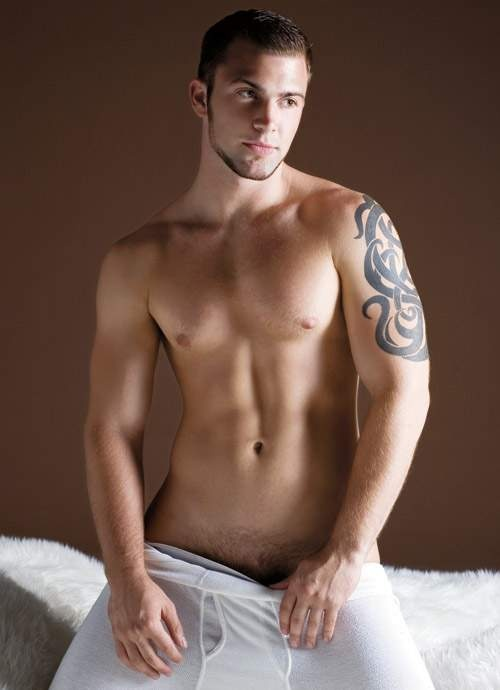 hot men tattoo nude