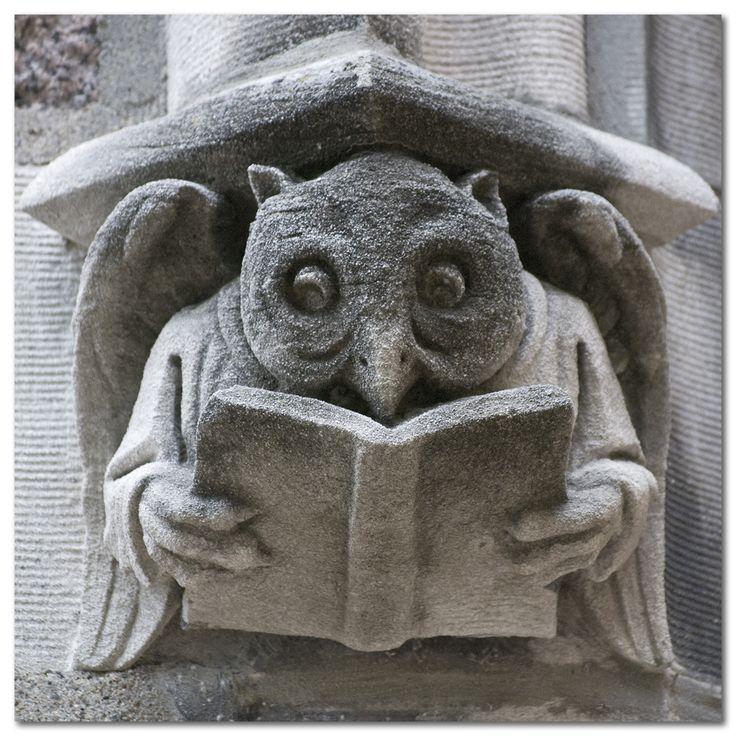 Gargoyle on the campus of Washington University in St. Louis.