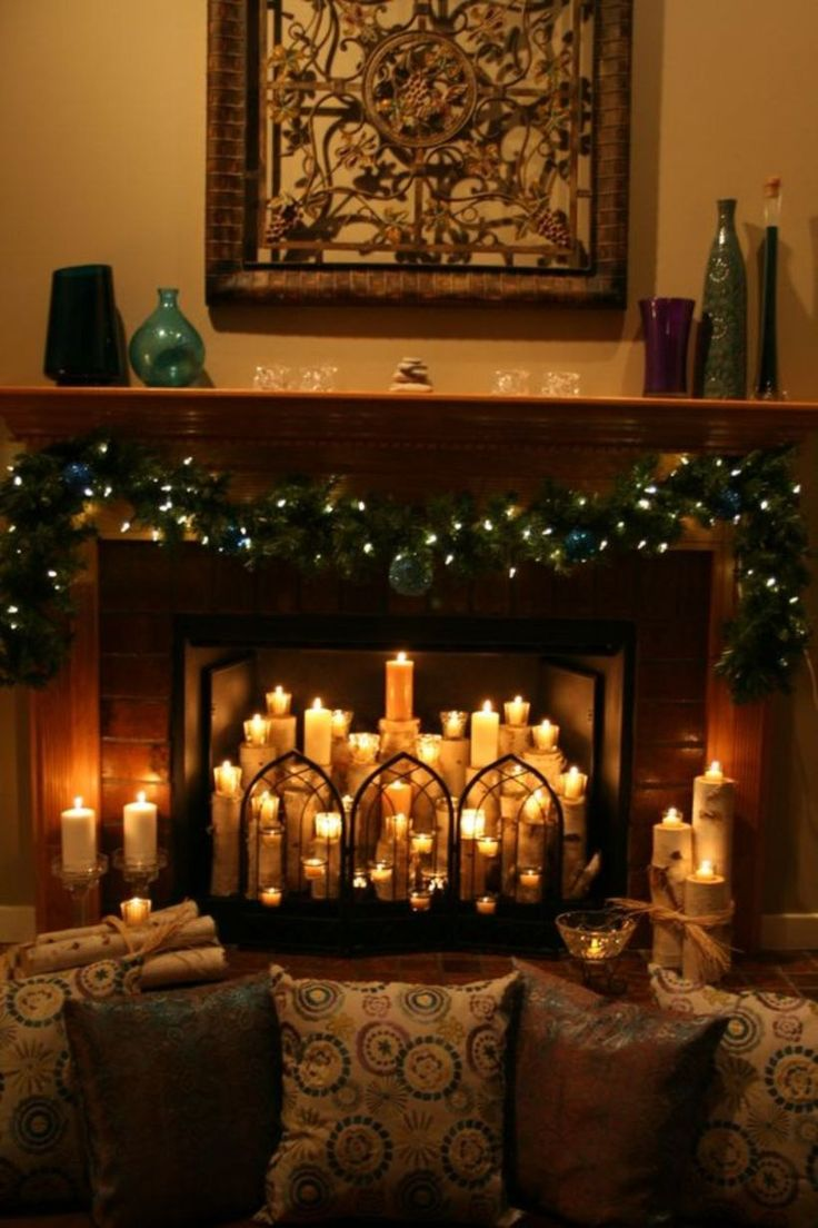 the 25 best candle fireplace ideas on pinterest fire place