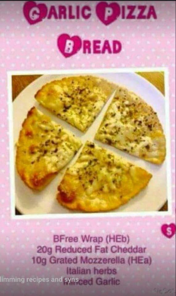 Slimmingworld garlic pizza bread