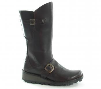 Fly Mes Warm DkBrown Ladies Footwear Boot