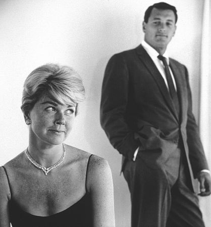 doris day and rock hudson relationship