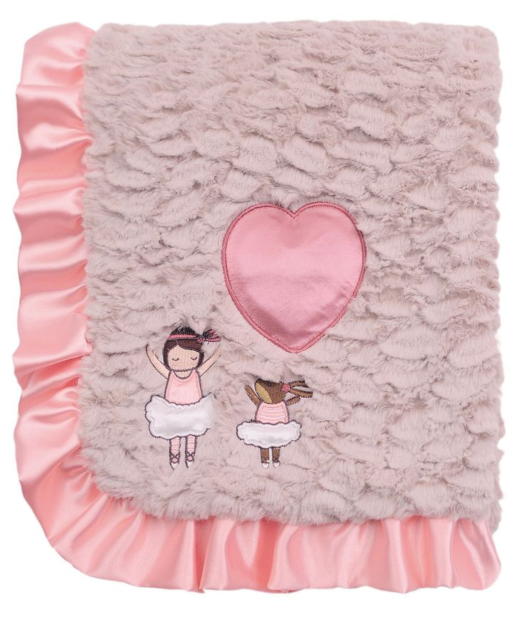 Ballerina Baby Blanket Girl - Merdy Manufacturing and Importing Inc