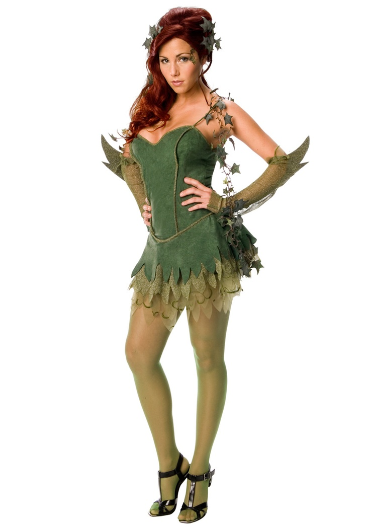 Sexy Poison Ivy Costume - I really need them to carry this in my size!