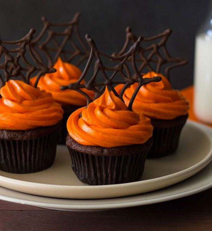 Les 25 meilleures id es de la cat gorie cupcakes araign e - Gateau d halloween facile a faire ...