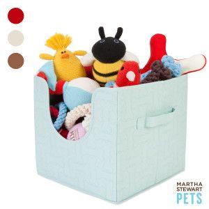 Martha Stewart Dog Toy Storage Bin