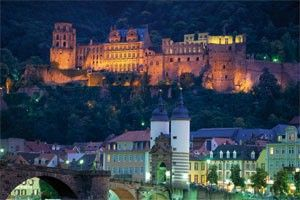 #12 attraction in Germany (per germany.travel) Old Town / Old Bridge Heidelberg  Heidelberg: Germany at its most romantic. | Tourism in Germany – travel, breaks, holidays