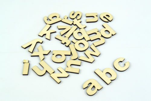Best 25 Wooden Alphabet Letters Ideas On Pinterest