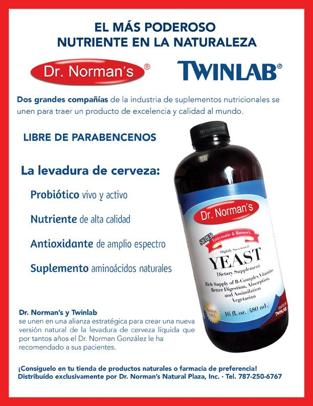 Dr. Norman's Liquid Yeast, $19.95 (http://prbionatural.com ...