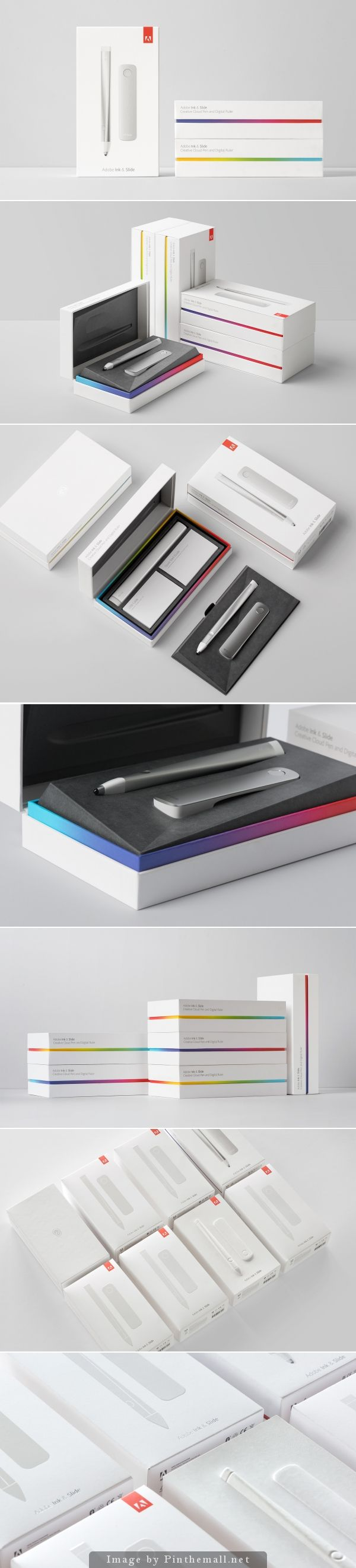 Adobe Ink Slide packaging. Packaging design by Character
