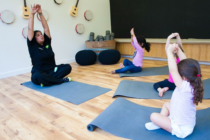 Yoga class in the Art and Music Studio at Greenwood Concord. www.greenwood.com.au