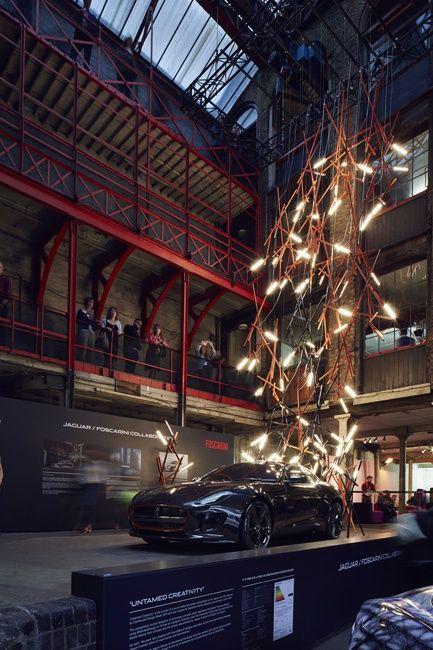 Световая инсталляция Untamed Creativity от Foscarini