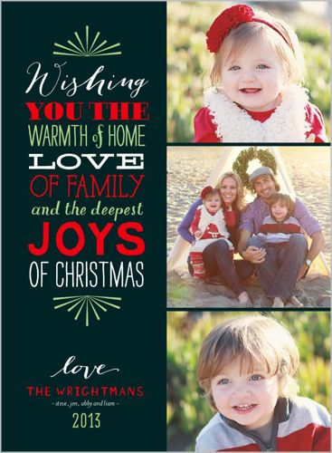 wishing warmth 6x8 stationery card by float paperie shutterflycom - Shutterfly Holiday Cards