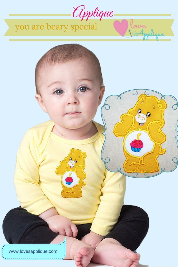 Care Bears Applique. Care bears Party Ideas. Care Bears Embroidery Designs. Care Bears . www.lovesapplique.com