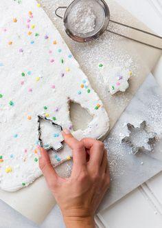 homemade funfetti christmas tree marshmallows