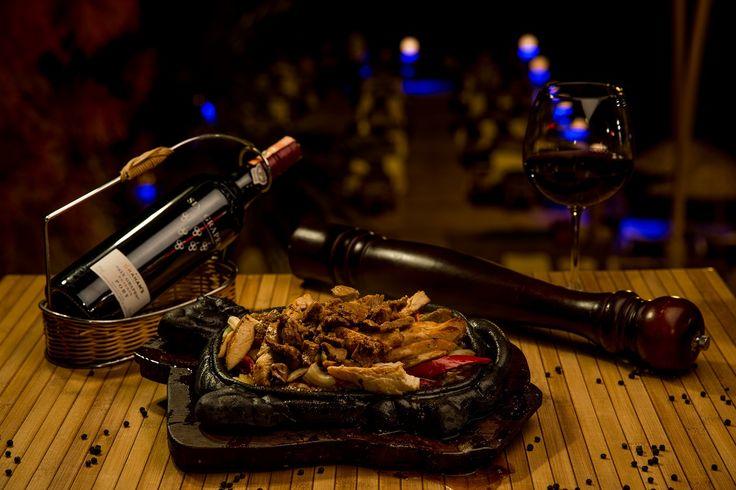 Et ve Tavuğun en seçkin baharatlarla buluşması ''Combo Fajita''