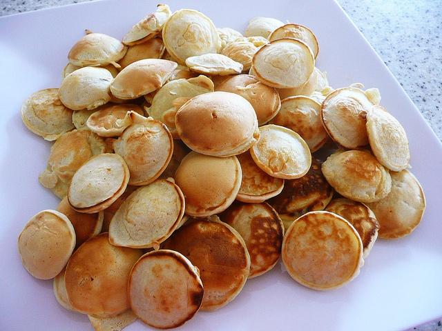 Poffertjes (Dutch mini pancakes) by The Food Pornographer, super duper yumminess