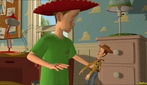 Andy: ¡Hola, vaquero! - Toy Story