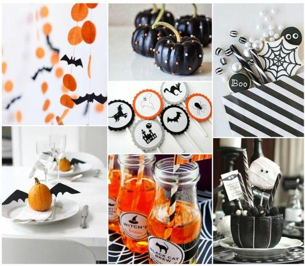 deko basteln and halloween on pinterest. Black Bedroom Furniture Sets. Home Design Ideas