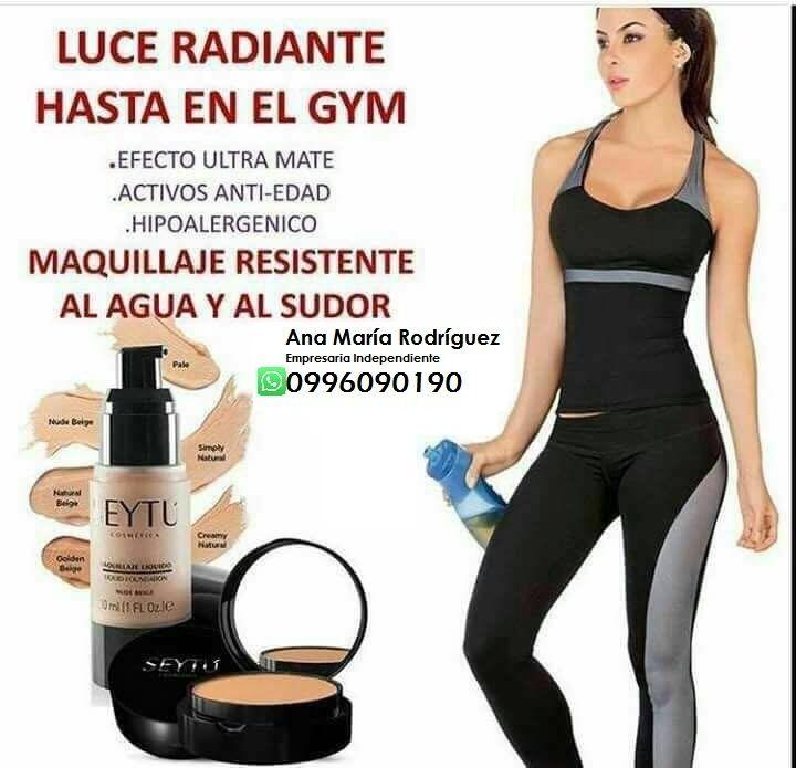 Omnilife en Quito: Maquillaje líquido a prueba de agua, Maquillaje con colágeno, pide tu prueba a domicilio Whatsapp +593996090190 annitama@hotmail.com