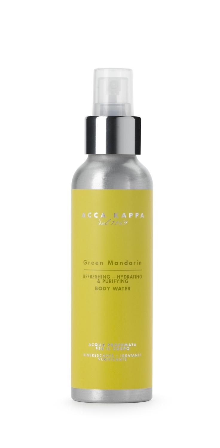 Acca Kappa  Green Mandarin  Acqua Profumata per il corpo  http://www.accakappa.com/it/c/3/corpo.html